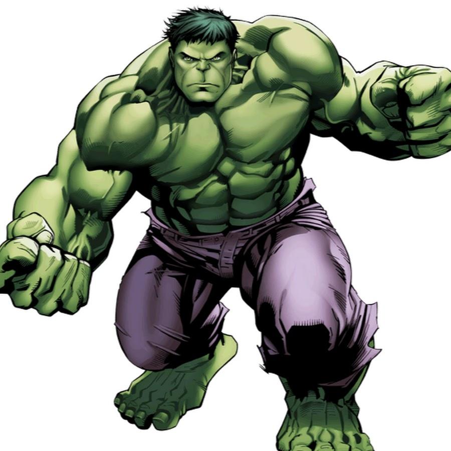 Drawing of Hulk