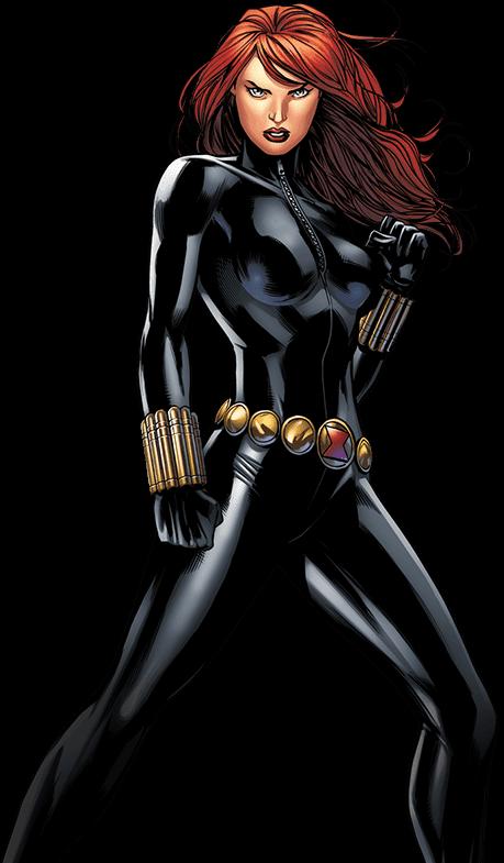 Drawing of classic Black Widow