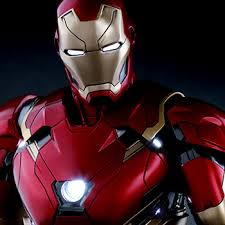 Close up of realistic Iron Man suit